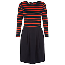 Buy NW3 by Hobbs Layla Dress, Copper Navy Online at johnlewis.com