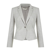 Buy Hobbs Gabriela Jacket, Grey Online at johnlewis.com