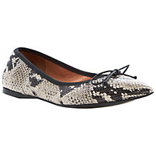 Buy Dune Makeda Leather Pumps Online at johnlewis.com