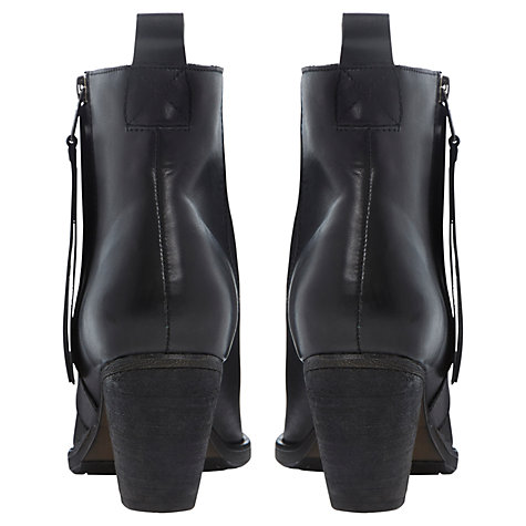 Buy Dune Platter Leather Ankle Boots Online at johnlewis.com