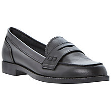 Buy Dune Lexus Penny Loafers, Black Online at johnlewis.com