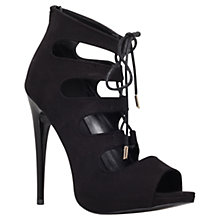 Buy KG by Kurt Geiger Jupiter Occasion Stilettos, Black Online at johnlewis.com