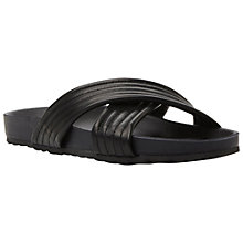 Buy Dune Jolenes Leather Flat Sandals Online at johnlewis.com