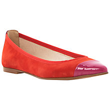 Buy Dune Monita Suede Contrast Colour Pumps Online at johnlewis.com