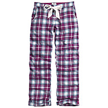Buy Fat Face Winterbourne Check Pyjama Pants, Amethyst Online at johnlewis.com