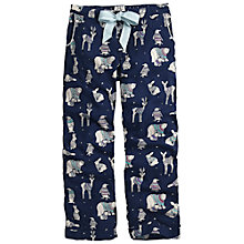 Buy Fat Face Animals In Jumpers Pyjama Pants, Navy Online at johnlewis.com