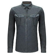 Buy G-Star Raw Rovic Cotton Shirt, Dark Combat Online at johnlewis.com