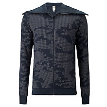 Buy G-Star Raw Yazev Jersey Hooded Zip-Up Top, Japan Blue Online at johnlewis.com