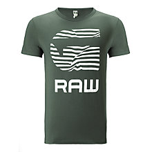 Buy G-Star Raw Radcord T-Shirt, Raw Grey Online at johnlewis.com