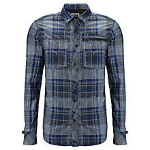 Buy G-Star Raw Attacc Lumberjack Style Shirt, Dark Combat Online at johnlewis.com