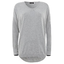 Buy Mint Velvet Silver and Granite Star Jumper, Grey Online at johnlewis.com