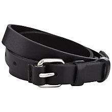 Buy Hobbs James Belt, Black Online at johnlewis.com