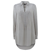 Buy Mint Velvet Pearl Print Blouse, Pearl Online at johnlewis.com