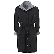 Buy Mint Velvet Zip Popper Parka Coat Online at johnlewis.com