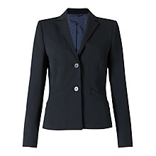 Buy Jigsaw Paris Fit Wool Jacket, Black Online at johnlewis.com