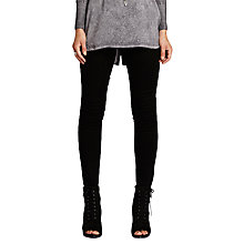 Buy Mint Velvet Seattle Skinny Jeans, Black Online at johnlewis.com