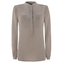 Buy Mint Velvet Silk Crepe Blouse Online at johnlewis.com