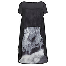 Buy Mint Velvet Noa Cape Top Dress,Multi Online at johnlewis.com