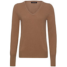Buy Jaeger Cashmere V Neck Sweater Online at johnlewis.com