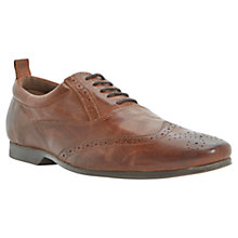 Buy Dune Robbie Wingtip Oxford Leather Shoe Online at johnlewis.com