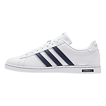 Buy Adidas Derby Leather Trainers Online at johnlewis.com