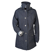 Buy Barbour Single Breasted Button Jacket, Navy Online at johnlewis.com