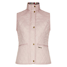 Buy Barbour Liddesdale Gilet, Mauve/Garter Blue Online at johnlewis.com