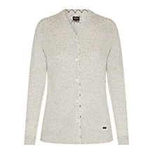 Buy Barbour Popham Cardigan, Green Lily Online at johnlewis.com