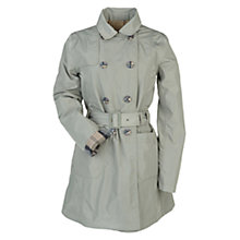 Buy Barbour Double Breasted Trench Coat, Sage Online at johnlewis.com