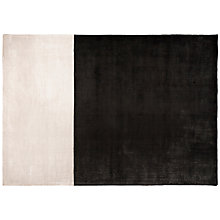 Buy Designers Guild Hasan Rug, Black/ White Online at johnlewis.com