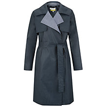 Buy NW3 by Hobbs Mia Trench Coat, Chambray Blue Online at johnlewis.com