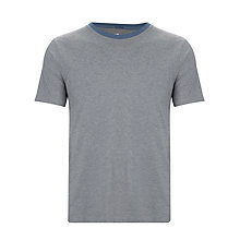Buy Kin by John Lewis Micro Stripe Crew Neck T-Shirt, Navy Online at johnlewis.com