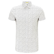 Buy Kin by John Lewis Drop Print Short Sleeve Shirt Online at johnlewis.com