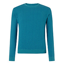 Buy JOHN LEWIS & Co.St Basils Sweat Dragon Fly Jumper, Teal Online at johnlewis.com