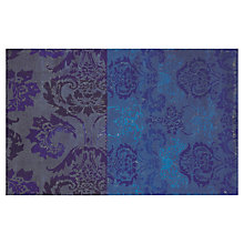 Buy Designers Guild Kashgar Rug, Indigo Online at johnlewis.com