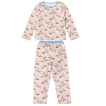 Buy Cath Kidston Girls' Star Dog Pyjamas Set, Pink Online at johnlewis.com