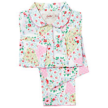 Buy Cath Kidston Girls' Patchwork Floral Pyjamas, Multi Online at johnlewis.com