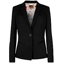 Buy Ted Baker Timeless Suit Jacket, Black Online at johnlewis.com
