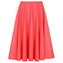Buy Ted Baker Heavy Skater Skirt, Tangerine Online at johnlewis.com