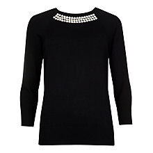Buy Ted Baker Crisana Crystal Embellished Jumper Online at johnlewis.com