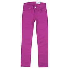 Buy Polarn O. Pyret Children's Coloured Denim Trousers Online at johnlewis.com