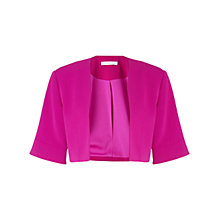 Buy Gina Bacconi Moss Crepe Bolero Jacket Online at johnlewis.com