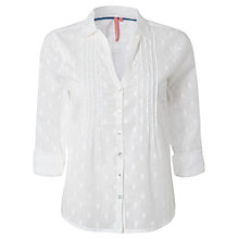 Buy White Stuff Brit Shirt, White Online at johnlewis.com