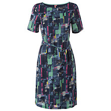 Buy White Stuff Paint Spot Dress, Dark Blue Online at johnlewis.com