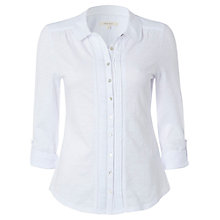 Buy White Stuff Easy Day Shirt, White Online at johnlewis.com