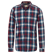 Buy Hilfiger Denim Adams Check Shirt, Graphite Online at johnlewis.com
