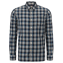Buy Hilfiger Denim Ames Check Shirt, Blue Online at johnlewis.com