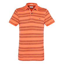 Buy Hilfiger Denim Pilot Short Sleeve Polo Shirt, Hot Coral Online at johnlewis.com