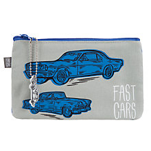 Buy Fast Cars Soft Pencil Case Online at johnlewis.com