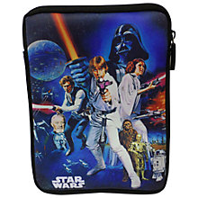 Buy Star Wars iPad Mini Neoprene Case, Blue/Multi Online at johnlewis.com